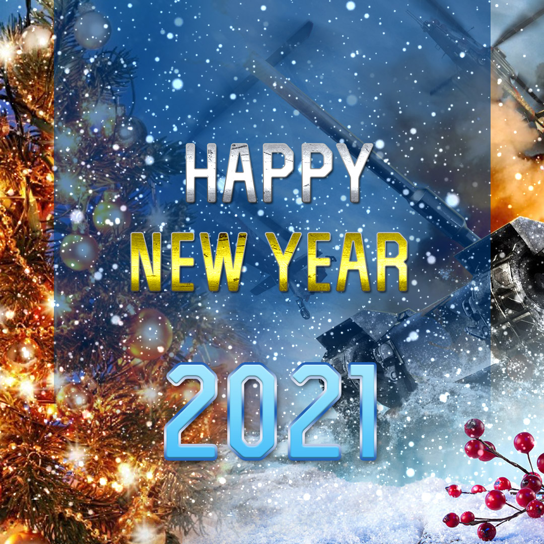 Happy 2021 New Year!
