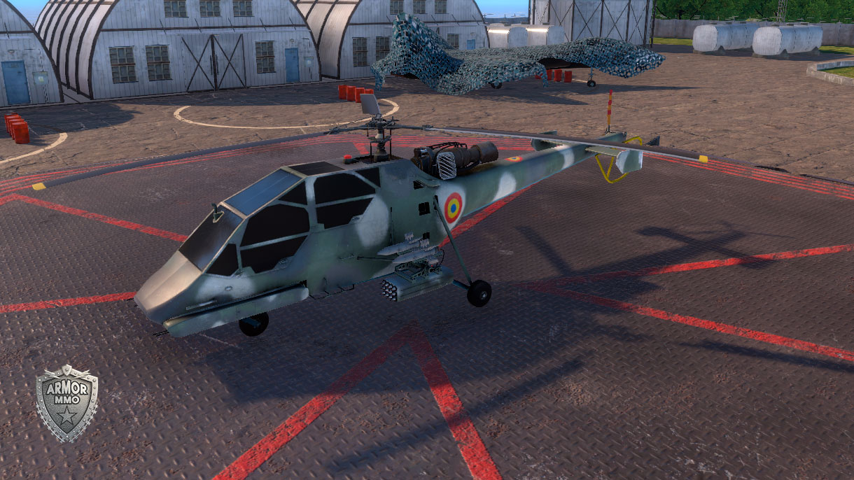 >IAR-317 Airfox helicopter