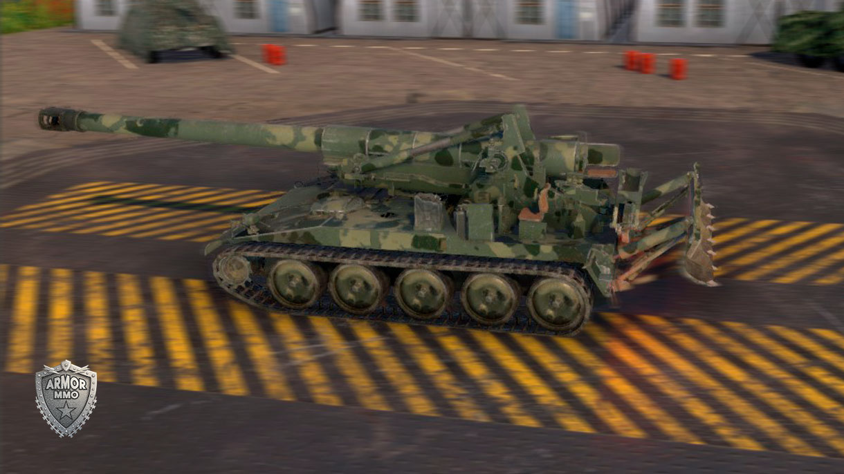 М110 Howitzer - ARMORMMO | Online Game