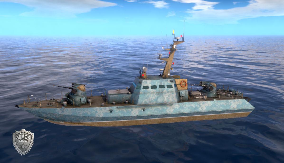Patrol boat Project 58155 Gurza M - ARMORMMO | Onl