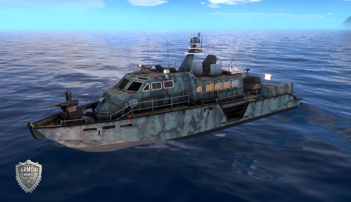 Mark VI patrol boat - ARMORMMO | Online Game