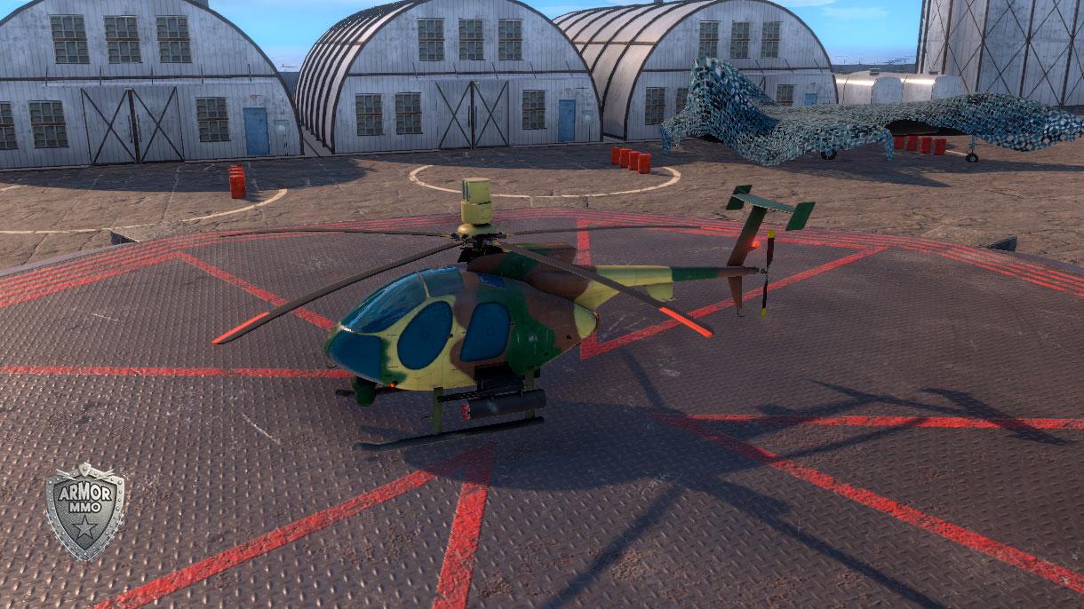 Helicopter MD-530MG Defender