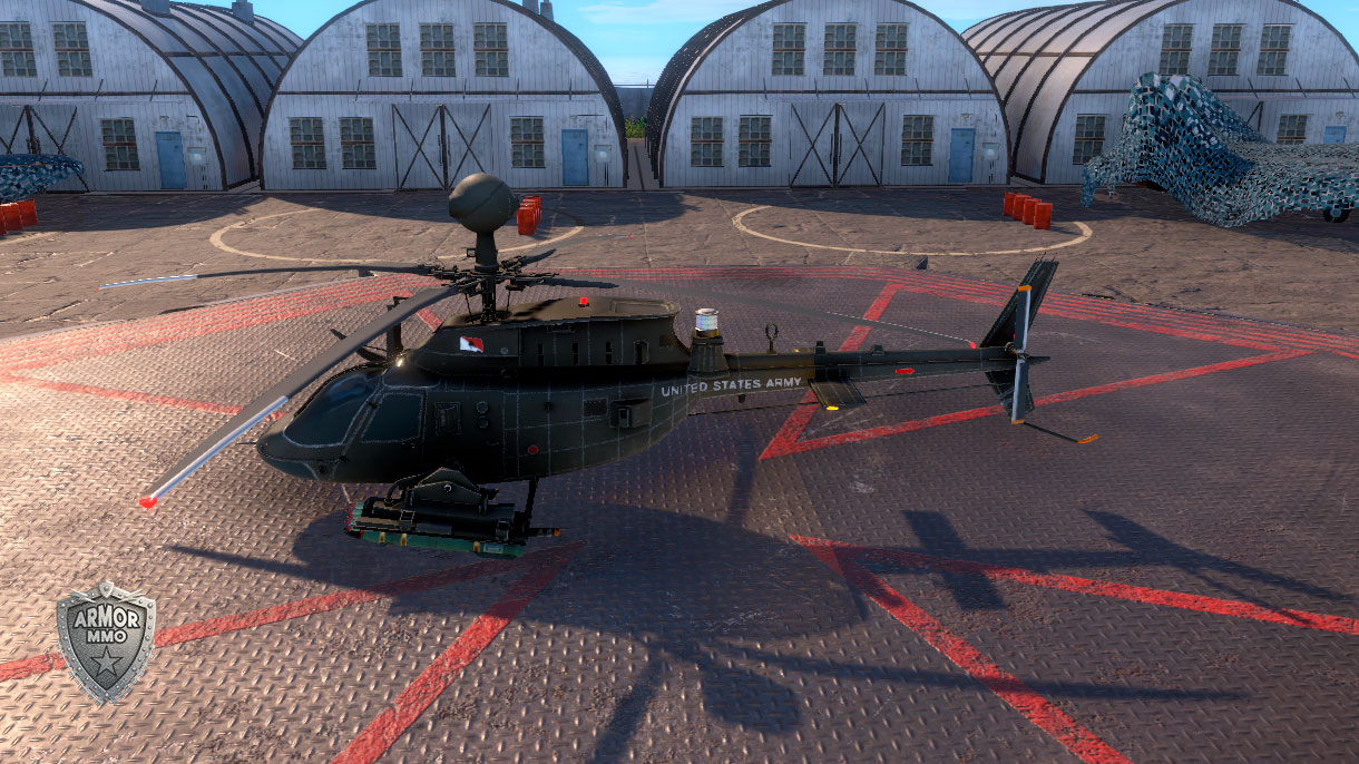 Helicopter Bell OH 58D Kiowa Warrior